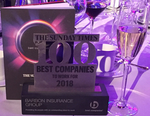 sunday times 100 best companies